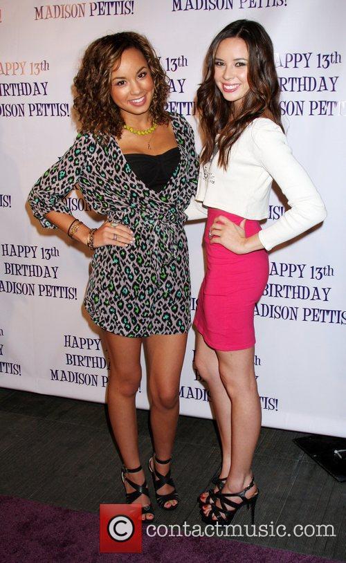 Savannah Jayde, Malese Jow Madison Pettis's 13th birthday...