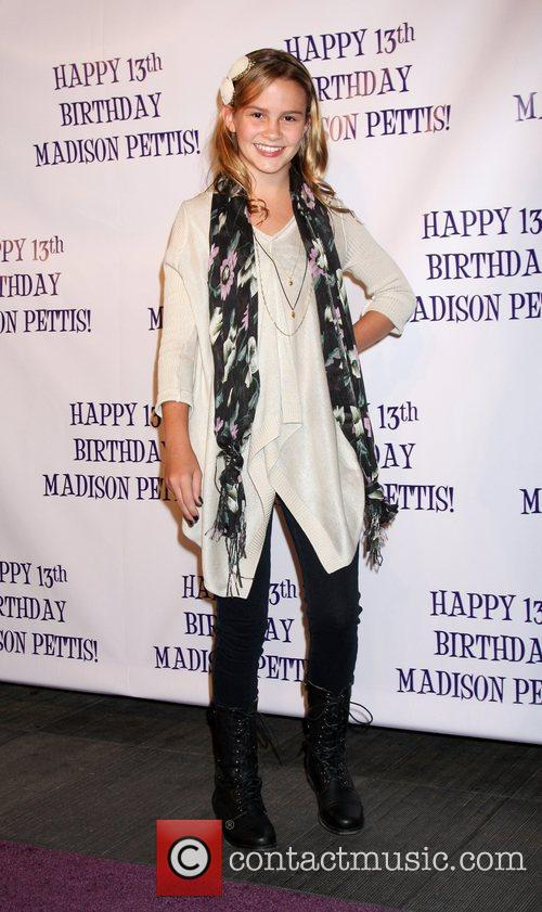 Taylar Hender Madison Pettis's 13th birthday party at...