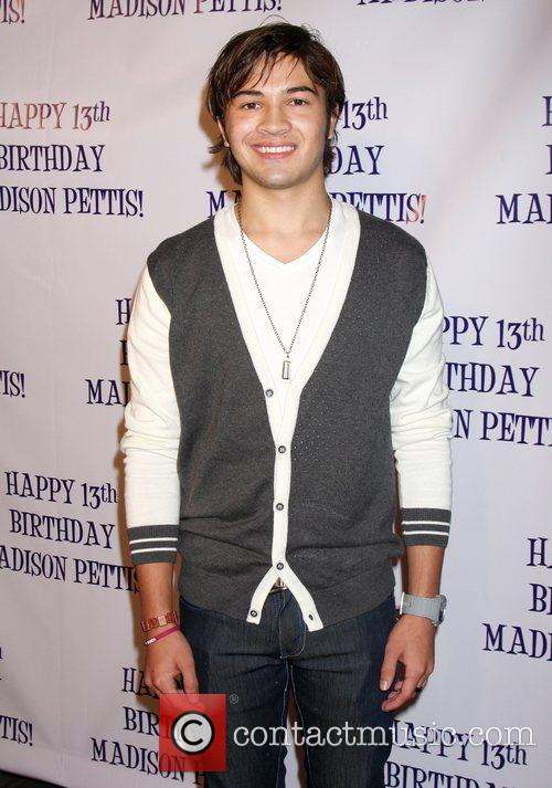 Taylor Gray  Madison Pettis's 13th birthday party...