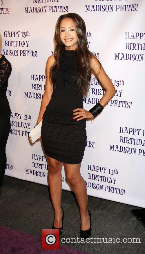 Tristin Mays Madison Pettis's 13th birthday party at...