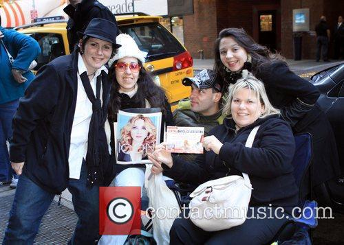 Gather outside the Roseland Ballroom ahead of the...