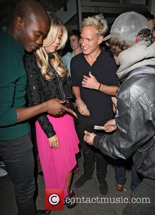Frankie Essex and Jamie Laing involved in a...