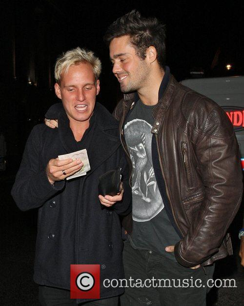 Jamie Laing and Spencer Matthews,  at Mahiki...