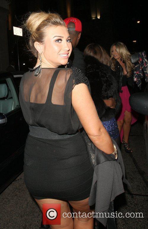Lauren Goodger ,  at Mahiki nightclub London,...