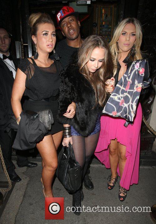 Lauren Goodger , Chloe Green and Frankie Essex...