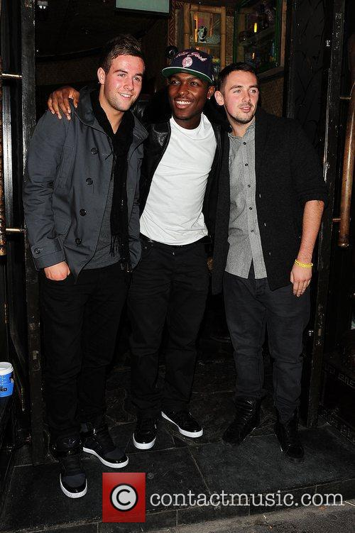 X Factor contestants  at Mahiki Club and...