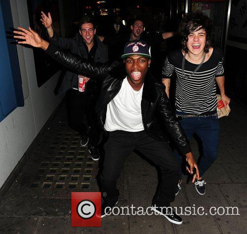 X Factor finalists Derry Mensah from The Risk...