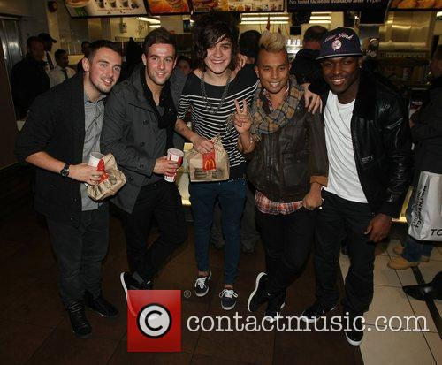 Charlie Healy, Andrew Merry, Frankie Cocozza and Derry...