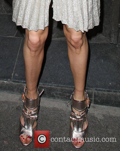 Cat Deeley appears to have some very knobbley...