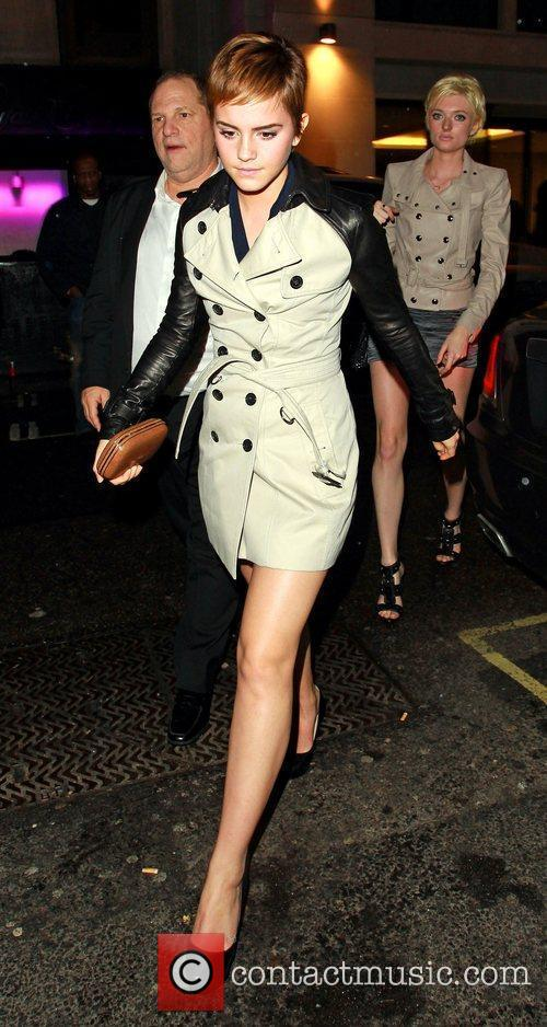 Emma Watson leaves Mahiki club after also attending...