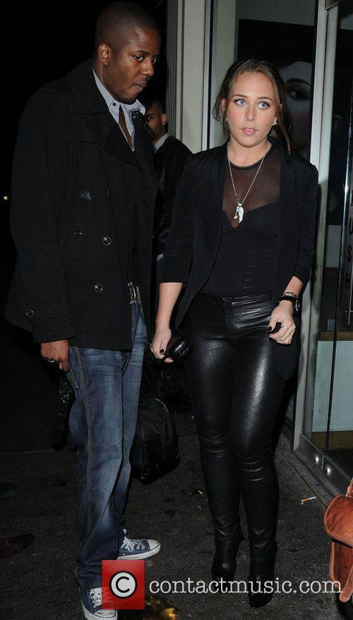 Chloe Green leaves London's Mahiki nightclub London, England