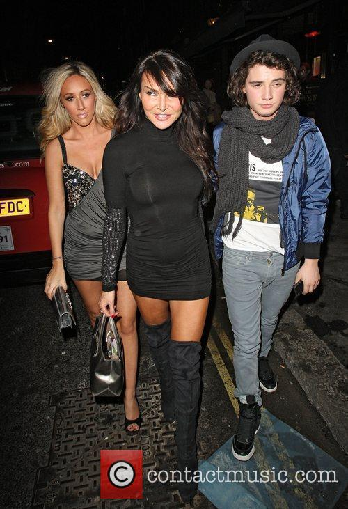 Lizzie Cundy and Jersey Shore 4