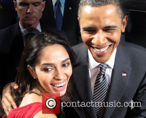 The Bollywood film star met with U.S President...