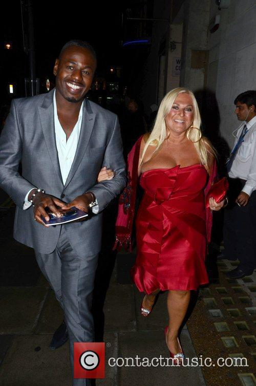 Celebrities attend special performance of Mamma Mia at...