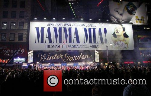 10th Broadway Anniversary of the musical 'Mamma Mia!'...