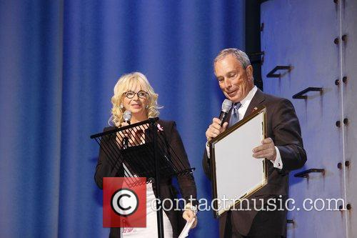 Judy Craymer and Mayor Michael Bloomberg  10th...