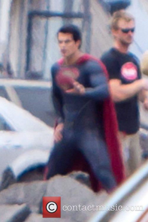 Henry Cavill and Superman 9