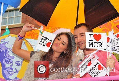 Brooke Vincent and Charlie Condou Manchester Pride 2011...