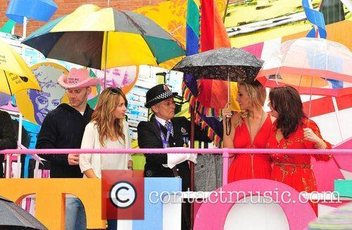 Catherine Tyldesley and Brooke Vincent Manchester Pride 2011...