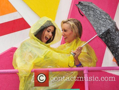 Brooke Vincent and Catherine Tyldesley Manchester Pride 2011...