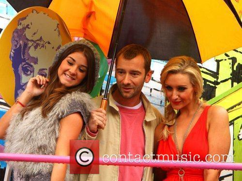 Brooke Vincent, Charlie Condou and Catherine Tyldesley Manchester...