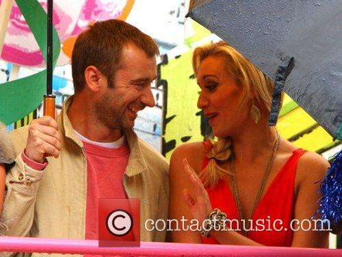Charlie Condou and Catherine Tyldesley Manchester Gay Pride...