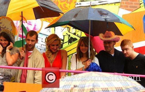 Coronation Street cast Manchester Gay Pride 2011 Manchester,...