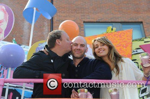 Anthony Cotton, Will Thorpe and Samia Smith Manchester...