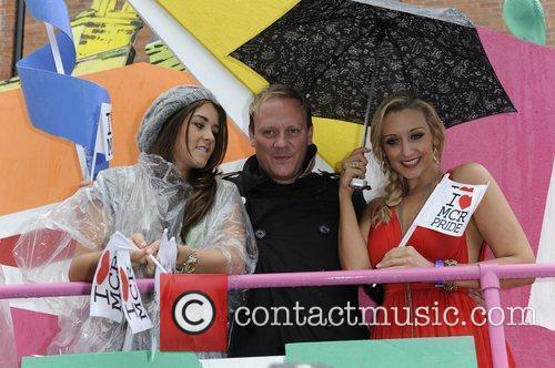 Boroke Vincent, Anthony Cotton and Catherine Tyldesley Manchester...
