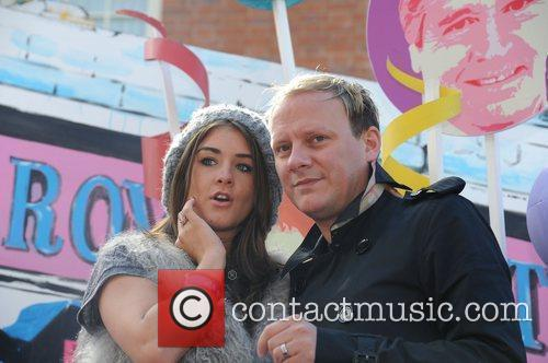 Brooke Vincent and Antony Cotton Manchester Gay Pride...