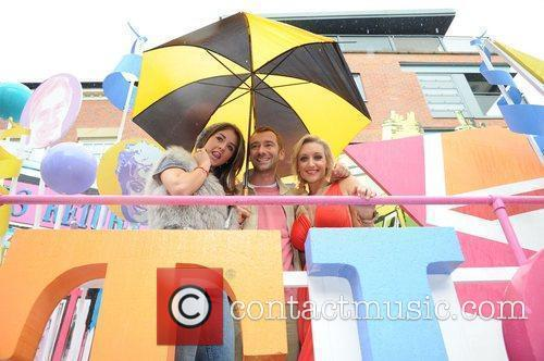 Boroke Vincent, Charlie Condou and Catherine Tyldesley Manchester...