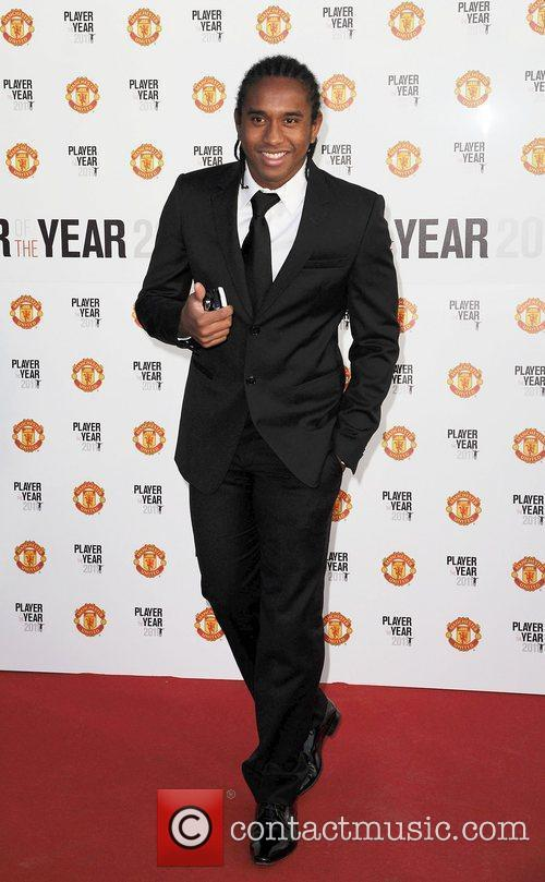 Anderson Manchester United Annual Player of the Year...