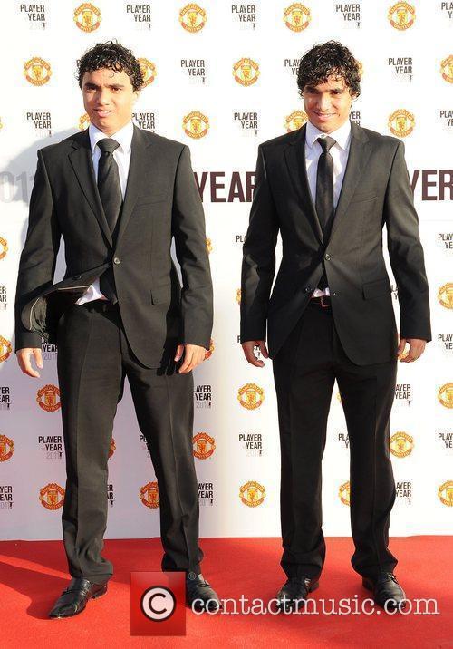 Fabio and Rafael da Silva Manchester United Annual...