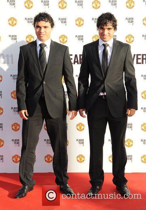 Fabio da Silva and Rafael da Silva Manchester...
