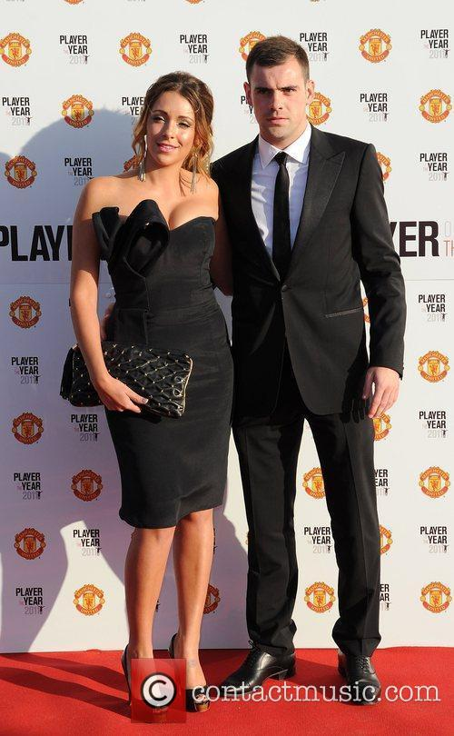 Darren Gibson and guest Manchester United Annual Player...