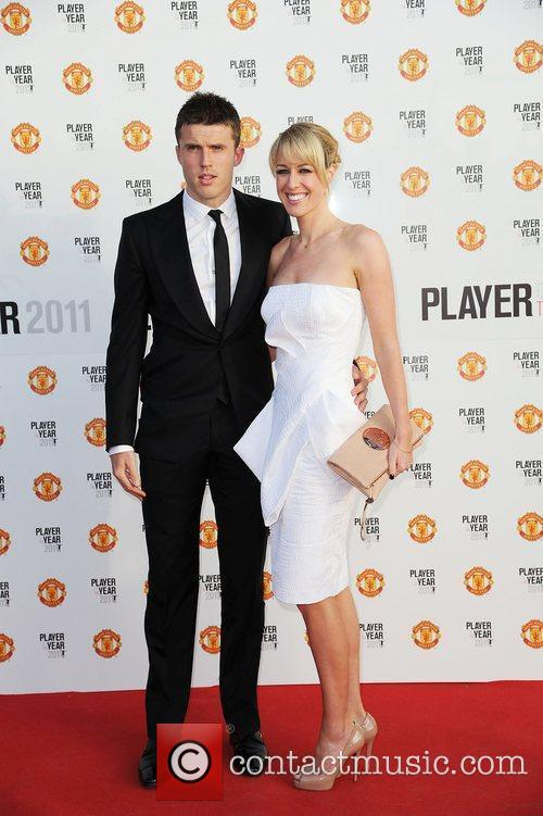 Michael Carrick and his wife Manchester United Annual...