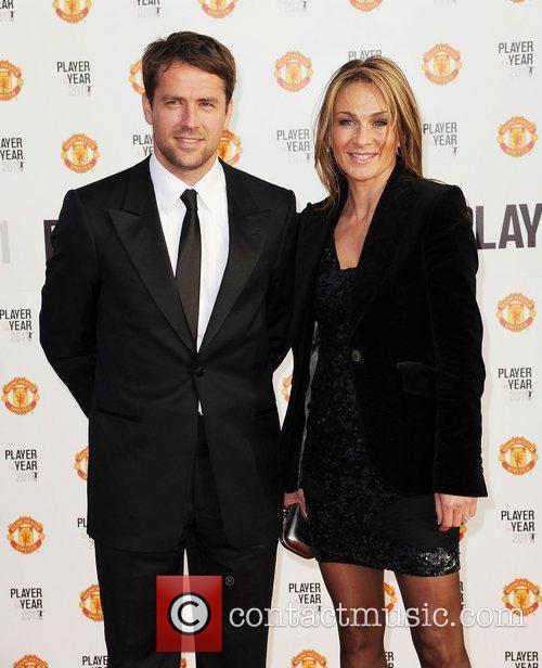 Micheal Owen and his wife Manchester United Annual...