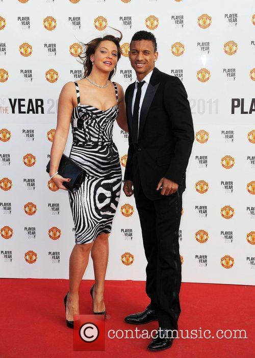Nani and Daniella Martins Manchester United Annual Player...
