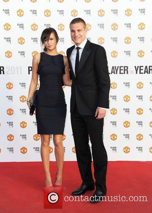 Nemanja Vidic and his wife Manchester United Annual...