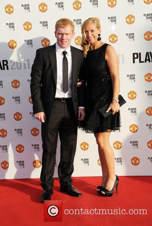 Picture 3349658 | Paul Scholes and Claire Scholes Manchester United ...