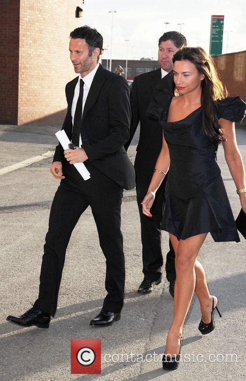 Ryan Giggs and Stacey Giggs Manchester United Annual...