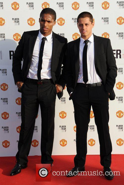 Valencia and Javier Hernandez Manchester United Annual Player...