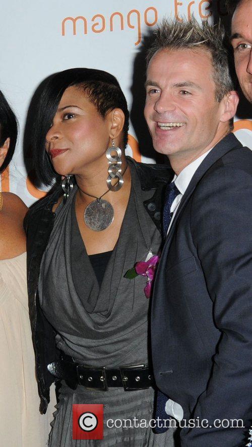 Gabrielle and Julian Bennett attending the Ladyboy Prince...