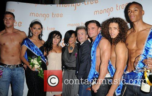 Gabrielle and guests attending the Ladyboy Prince and...