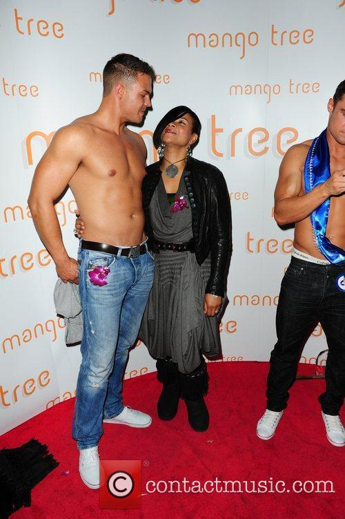 The Singer Gabrielle  attending the Ladyboy Prince...