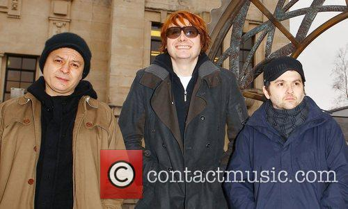 Manic Street Preachers attend a photocall with BBC...