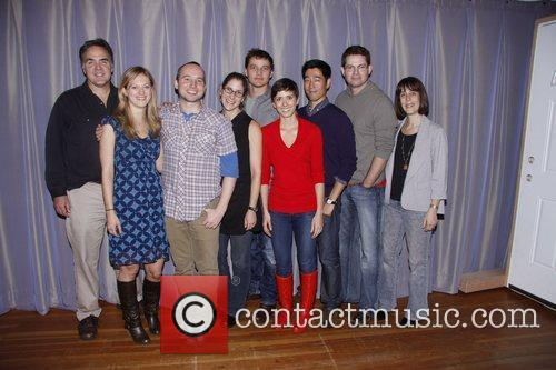Cast and Creative Team First Day of Rehearsals...