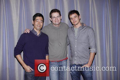 Peter Kim, Trent Dawson and Pedro Pascal...
