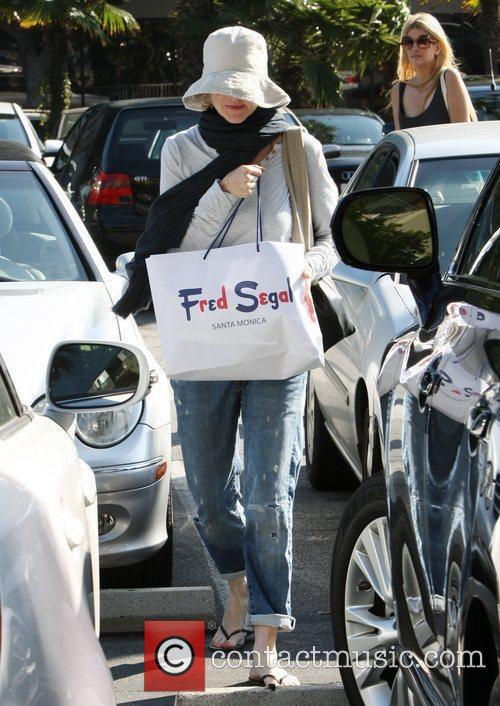 Marcia Cross shopping at Fred Segal in Santa...