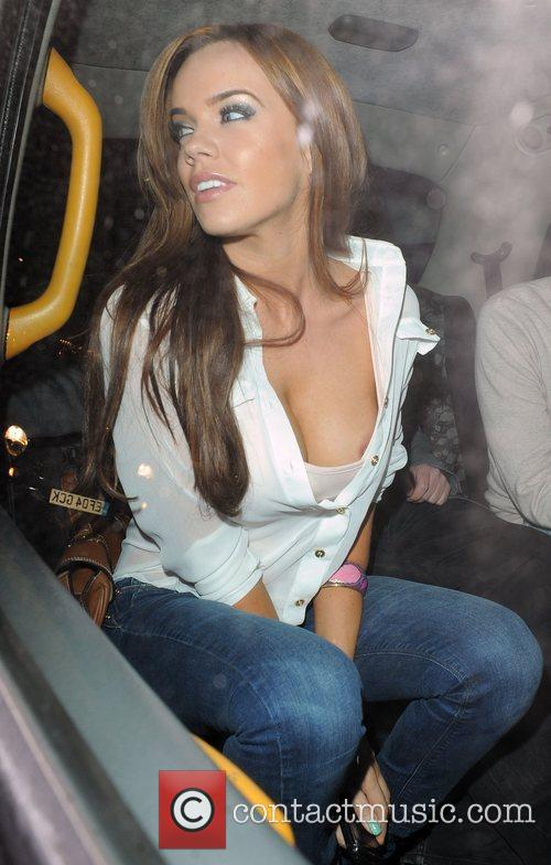 Maria Fowler suffers a wardrobe malfunction, as she...
